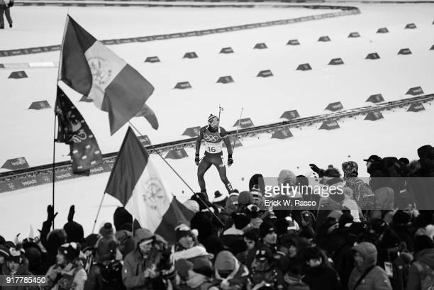 2018 Winter Olympics South Korea Timofey Lapshin during Men's 125km Pursuit at Alpensia CrossCountry Centre PyeongChangGun South Korea 2/12/2018...
