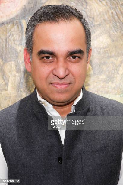 Bibhu Mohapatra attends 'A Magic Bus Cocktail Party' at DAG Modern on May 9 2017 in New York City