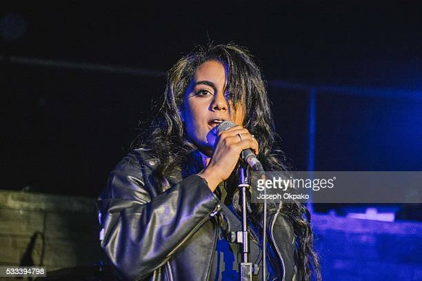 Bibi Bourelly performs on Day 3 of The Great Escape Festival on May 21 2016 in Brighton England