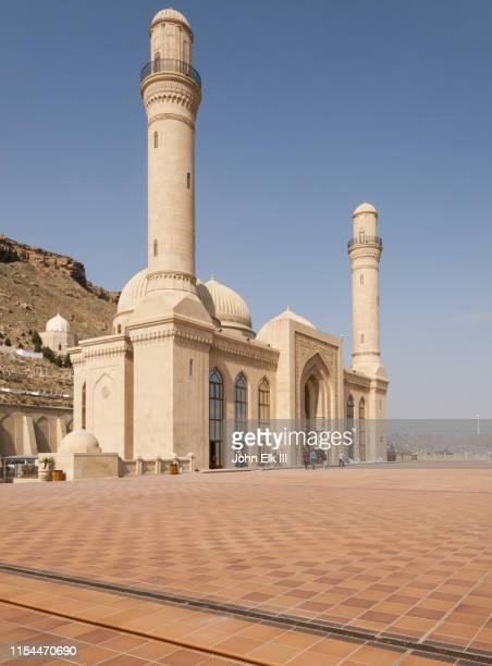 bibi heybat mosque - azerbaijan stock pictures, royalty-free photos & images