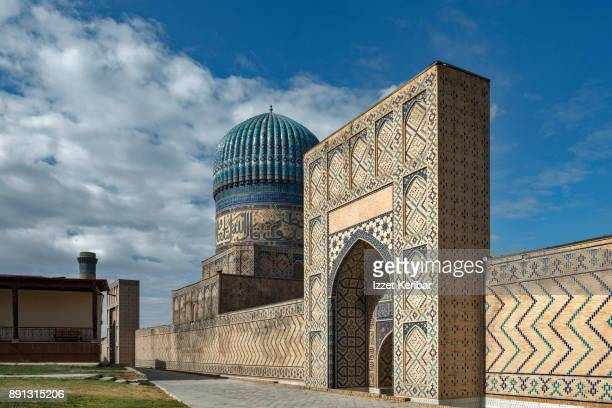 Bibi Khanum  mosque and complex at Samarkand,Uzbekistan
