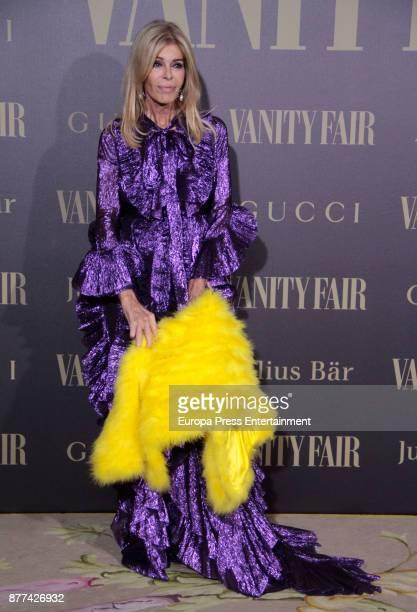 Bibiana Fernandez attends the gala 'Vanity Fair Personality of the Year' to Garbine Muguruza at Ritz Hotel on November 21 2017 in Madrid Spain