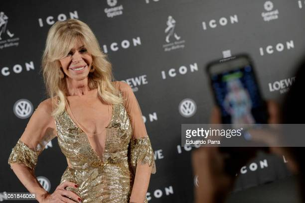 Bibiana Fernandez attends the 'Icon Awards 2018' photocall at Real Tapestry Factory on October 10 2018 in Madrid Spain