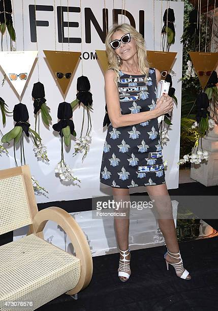 Bibiana Fernandez attends the launch of the Fendi New Eyewear Collection at the Miguel Angel Hotel on May 12 2015 in Madrid Spain