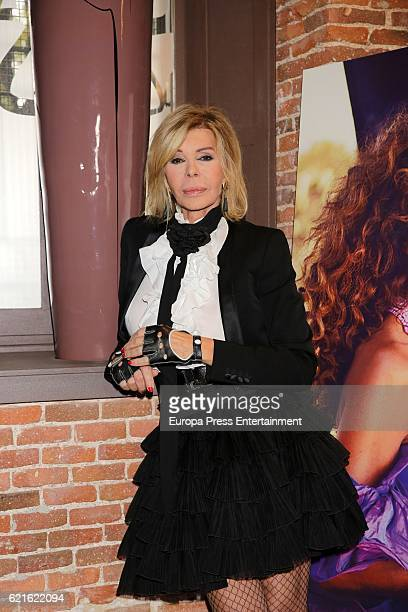 Bibiana Fernandez attends the presentation of Rosario Flores's new album 'Gloria A Ti' at Corral de la Moreria on November 4 2016 in Madrid Spain