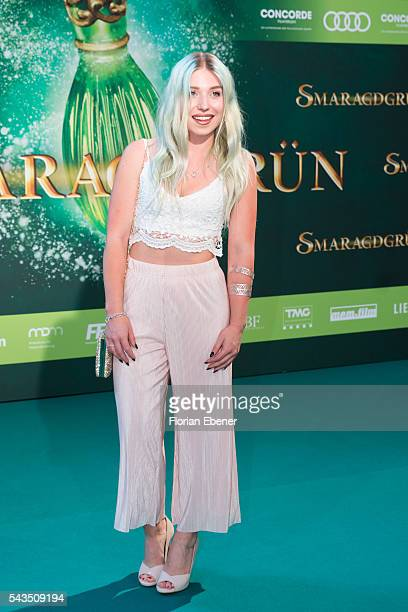Bibis Beauty Palace attends the 'Smaragdgruen' German Premiere on June 28 2016 in Cologne Germany