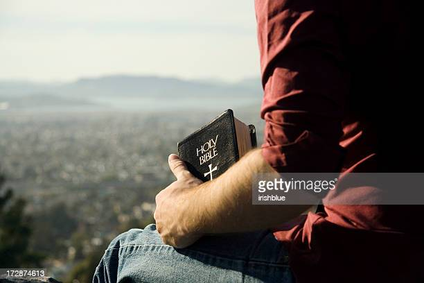 Bible and a view