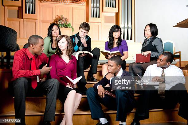 bible study - gospel stock photos and pictures