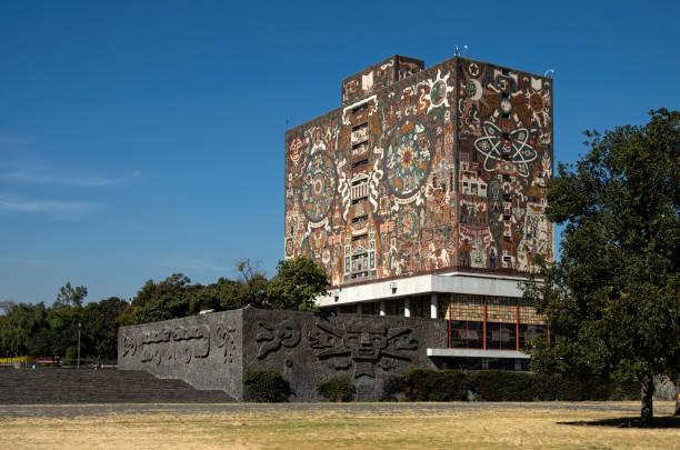 Biblioteca Central (Central Library), Universidad Nacional Autónoma de México (UNAM), Coyoacán, Mexico City, Mexico