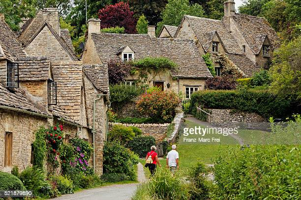 bibury - gloucestershire stock pictures, royalty-free photos & images