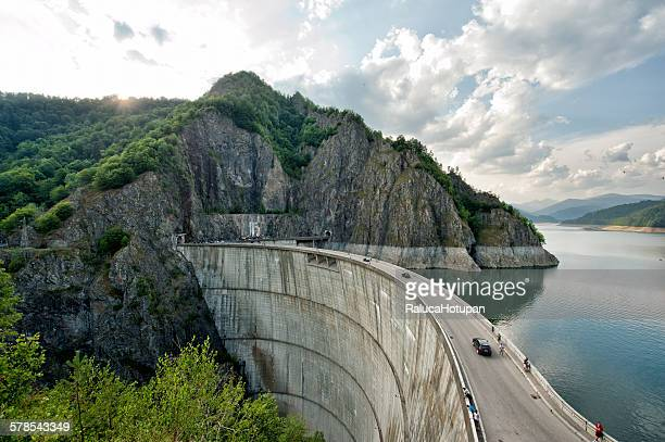 Bicaz dam and lake