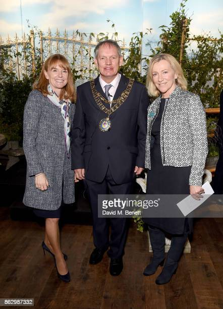 Bicester Village Business Director SarahJane Curtis Mayor Bicester Councillor Les Sibley and Bicester Village Community Relations Director Miranda...