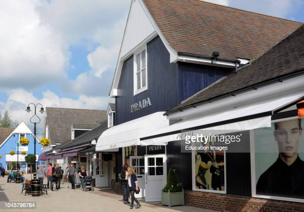Bicester Village claimed to be the leading Designer outlet shopping destination in Europe Bicester Oxfordshire England