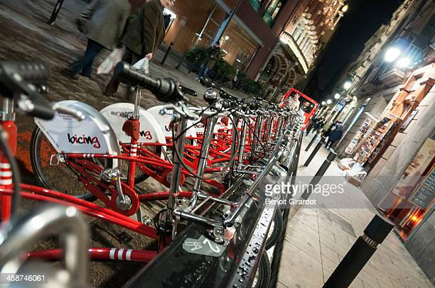 Bicing is a public bicycle rental system in Barcelona, Spain, similar to the one found in many big cities across the world. This one is very...