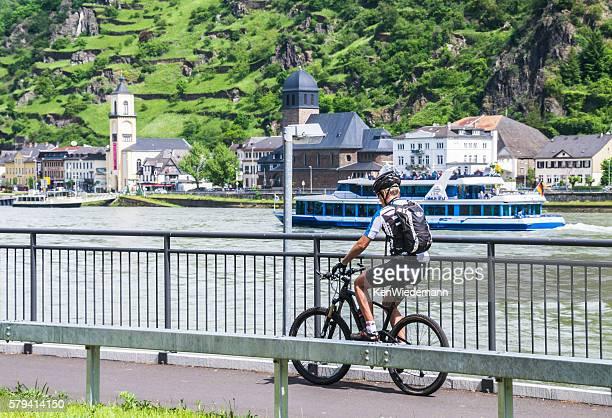 Bicycle along the Rhine
