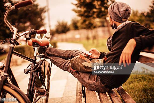 Bicycle and music
