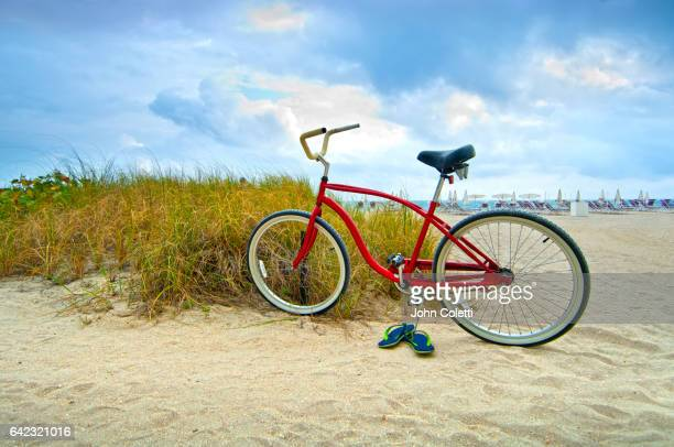 Bicycle, Bal Harbour Beach, Miami Beach, Florida