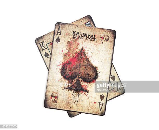 Bicycle brand Karnival Dead Eyes playing cards