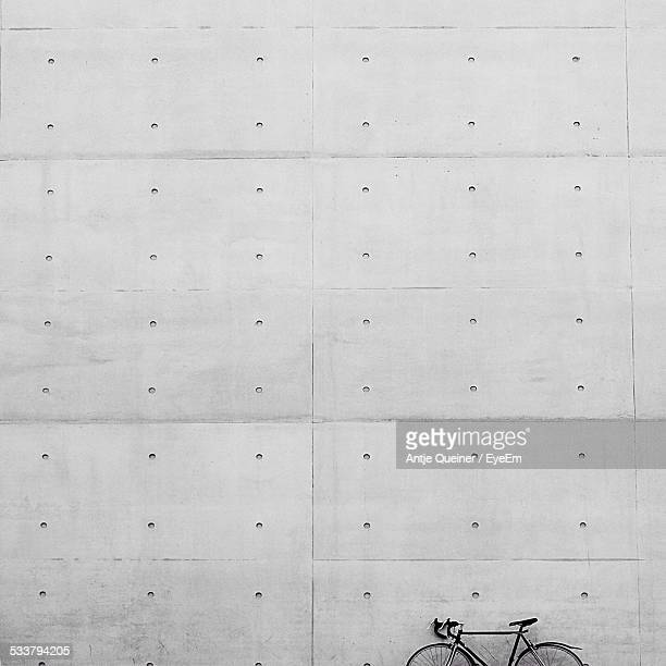 Bicycle By Wall