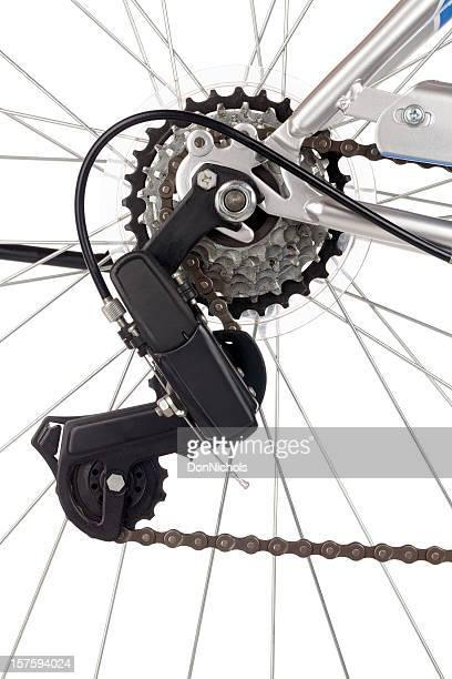 チェーンと自転車のギア - 変速ギア ストックフォトと画像
