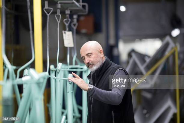 Bicycle Factory Quality Control