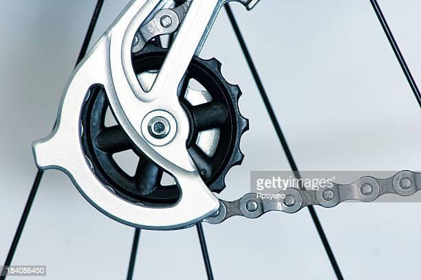自転車のギアおよびコンポーネント - 変速ギア ストックフォトと画像