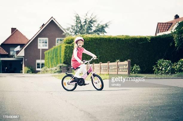 自転車の少女