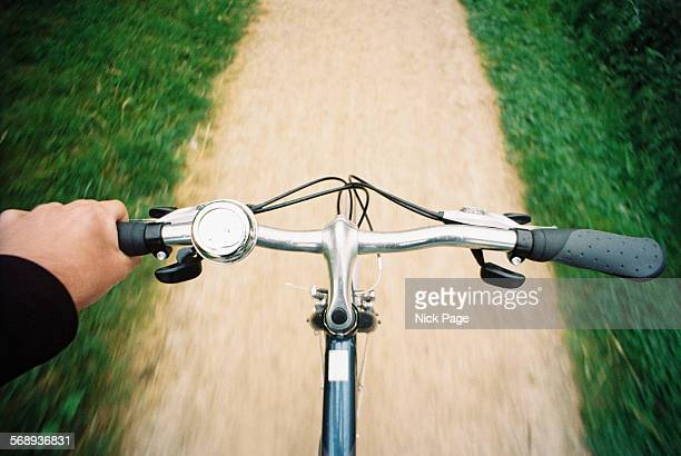 Bicycle Handlebars from Cyclist Point of View