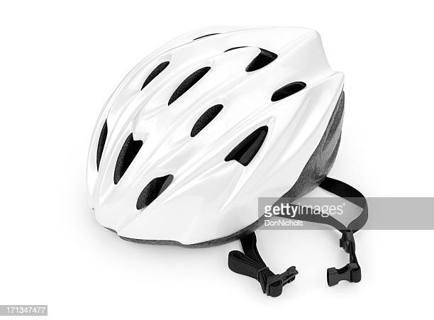 bicycle helmet - cycling helmet stock pictures, royalty-free photos & images