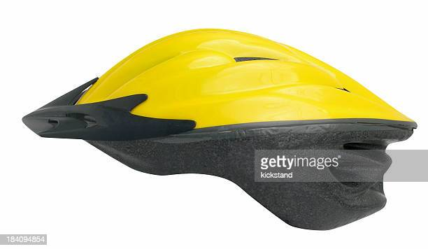 bicycle helmet w / path - cycling helmet stock photos and pictures