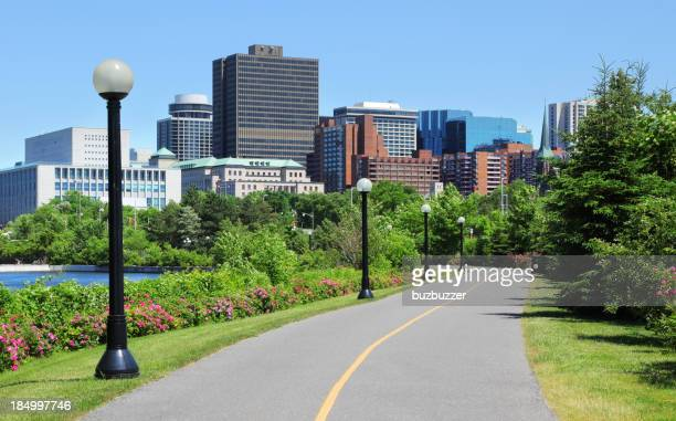 Bicycle Lane in an Ottawa City
