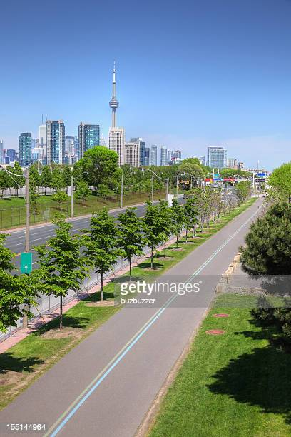Bicycle Lane to Toronto City