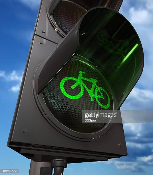 Fahrradweg Ampel