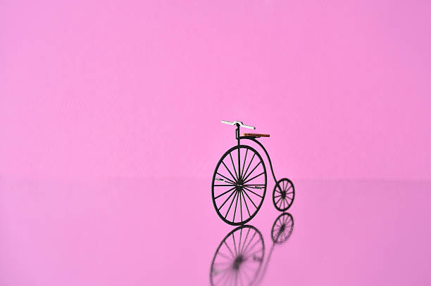 Bicycle Model Made ??of Paper Wall Art