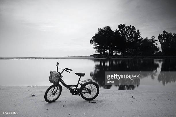 Bicycle near water