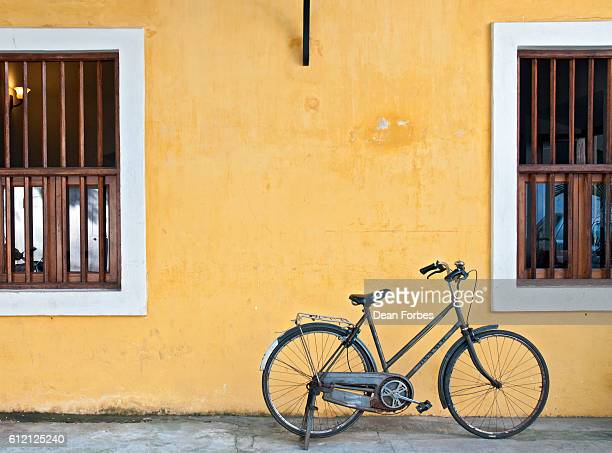bicycle parking - tamil nadu stock pictures, royalty-free photos & images