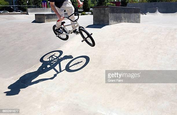 BMX bicycle.