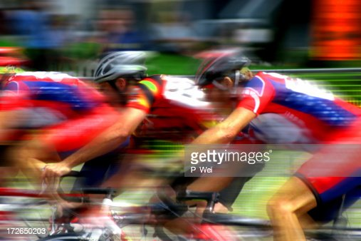 Bicycle Race Blur