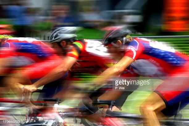 Bicycle Race Blur
