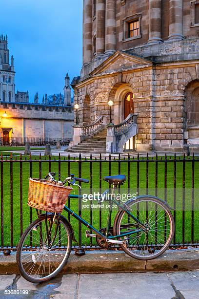 Bicycle, Radcliffe Camera, Oxford, England