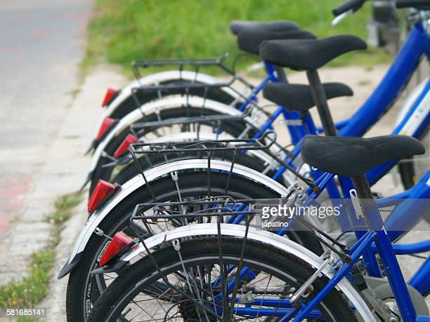 Bicycle rental point