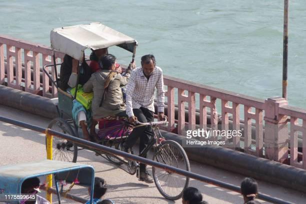Bicycle Rickshaw Haridwar India