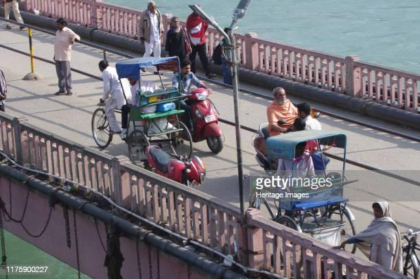 Bicycle Rickshaws Haridwar India