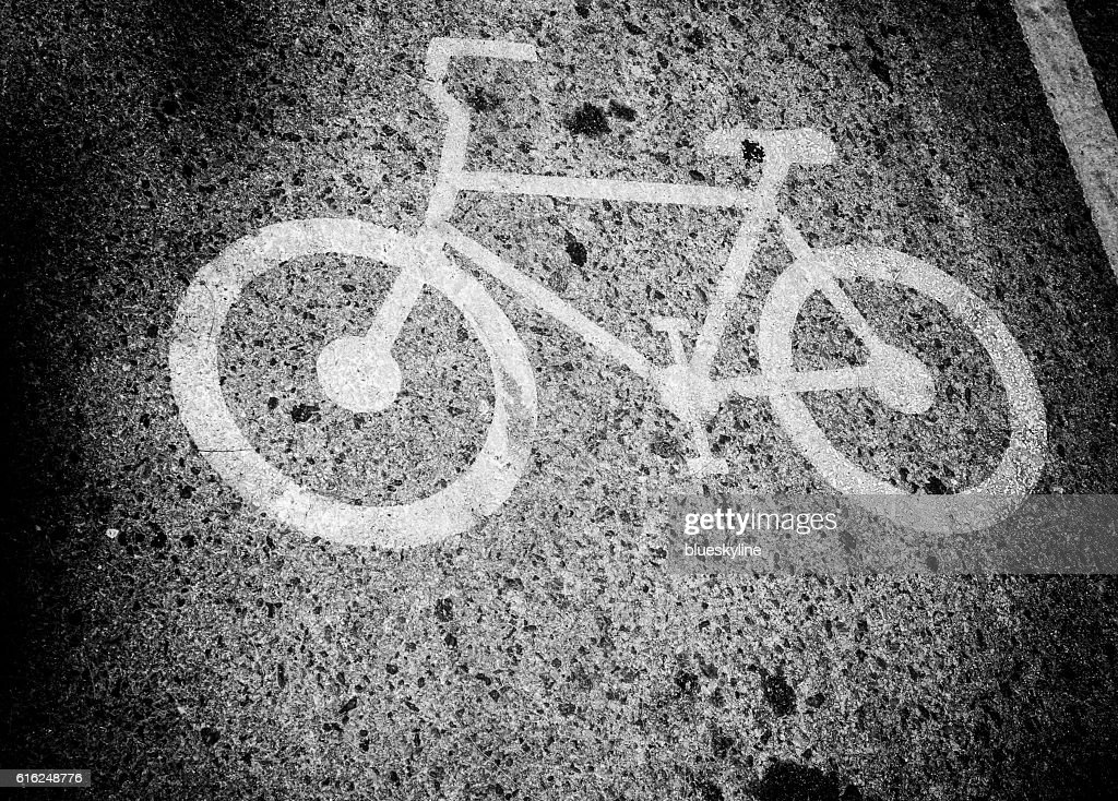 Bicycle road : Stock Photo