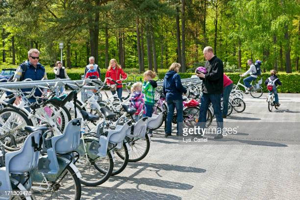 Bicycle sharing Hoge Veluwe