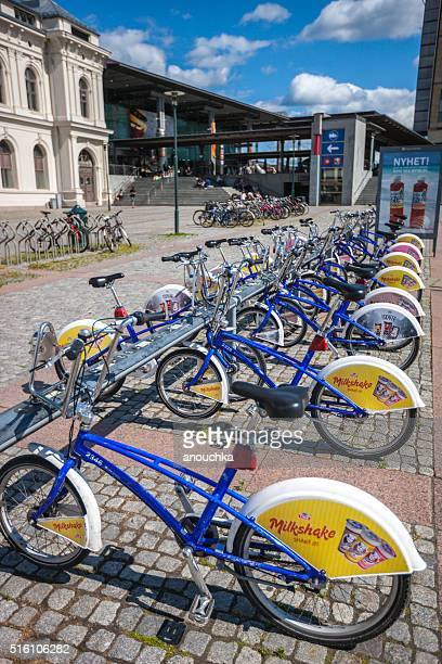 Bicycle sharing system in Oslo, Norway