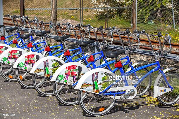 A bicycle sharing system or bike share scheme is a service in which bicycles are made available for shared use to individuals on a very short term...