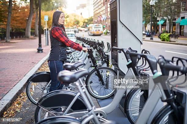 Fahrrad-sharing-system