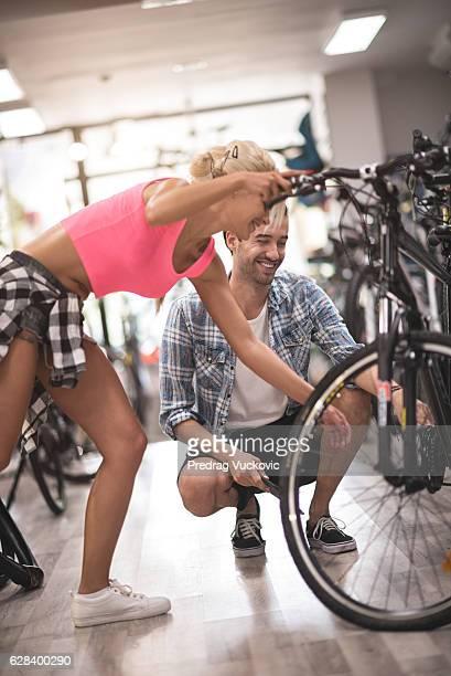 bicycle store - partire bildbanksfoton och bilder