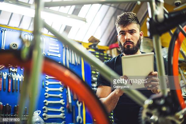 bicycle technician - male maldives stock pictures, royalty-free photos & images